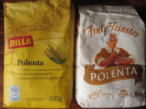 Polenta aus Österreich